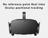 No Reference Point Oculus Positional Tracking