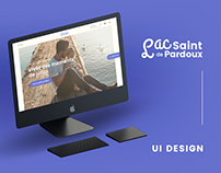 UI Design / Art Direction - Lac de Saint-Pardoux