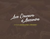 Aux Douceurs d'Alexandre — Branding