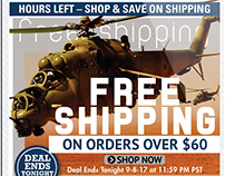 Free Shipping Email Marketing Designs