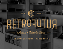 RetroFutur - Full Identity & Webdesign