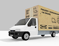 IKEA BUSINESS – delivery van