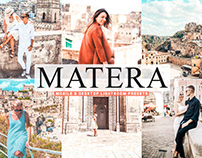 Free Matera Mobile & Desktop Lightroom Presets