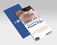 Tríptico - Cuenta a plazo fijo - BCP