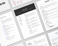 11 Creative Resume Templates Bundle | AI