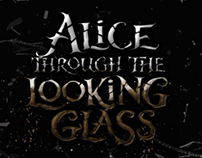 Alice Through the Looking Glass Title Sequence