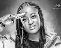Rapsody Digital Oil Painting by Wayne Flint
