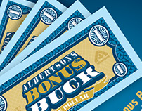 "Albertsons ""Bonus Bucks"" Reward Program"