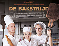 """De Bakstrijd"" ad for West-Flemish bakeries game"