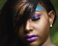 Model: Abigael Mumbi Make Up Artist_Daughty