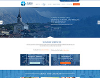 Church Website Concept