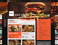 Cairo Munch Web Design