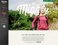 Mighty Organic Website