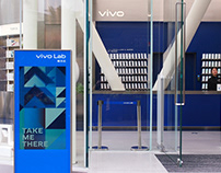 vivo Lab Wayfinding Design