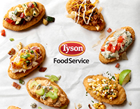 Tyson Chicken Boat Loaders Snacks
