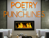 Poetry and Punchlines -Tampa Improv | Poster Design