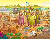 Children's Magazine ilustration - NA CPB FEV17