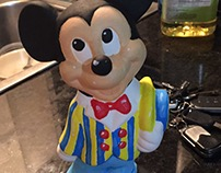 mickey mouse ceramic