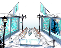 TIFFANY & Co. | NYC Street Dinner concept for PRCO