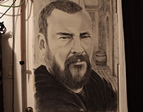 Shane Smith Graphite & Charcoal
