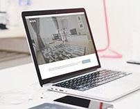 Web Layout – Caelestis Apartments, Zagreb, Croatia