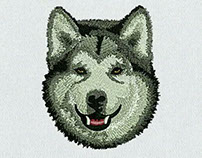 Dogs Embroidery Designs in Cheapest Prices
