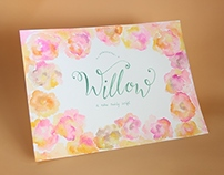 Willow script | Handwritten Calligraphy