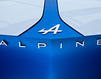 Alpine Cars | Custom Typefaces
