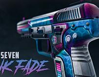 57- Pink Fade