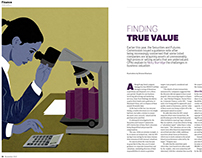 Editorial illustrations for A Plus magazine.