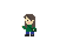 Pixel-art characters [2016]