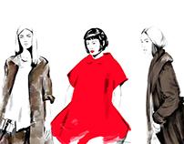 Fashion Sketches 2016