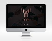 تصميم موقع شركة ايزر لتنظيم الفعاليات