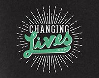 Changing Lives ONG :: Diseño de logo + papelería