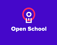 "Logo and brand identity for ""Open School"""