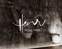 Hotel Henri · Identity