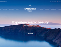 Santorini Resort - Hotel theme by CSSIgniter