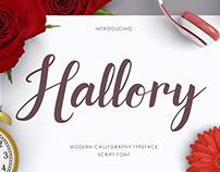 Hallory Script Font