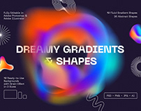 Dreamy Gradients and Shapes