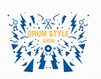 Business cards and t-shirts for Drum Style Show