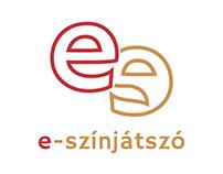 e-színjátszó / logo design