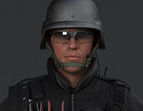 Rainbow Six Siege Cinematic SWAT Character