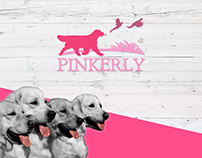 Pinkerly Golden Retrievers Branding + Web site