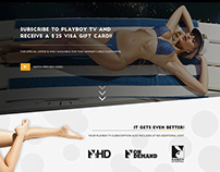 Playboy TV Mail In Rebate Campaign