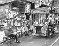 Thailand sketch