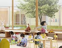 Ecole Maternelle et élementaire / Trible / Martinez