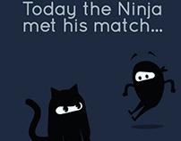 The Ninja met his match