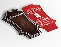 Crittenden Guitars Business Card