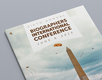Conference Program, Biographers International