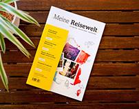 .Meine Reisewelt.   Branding und Editorial Design